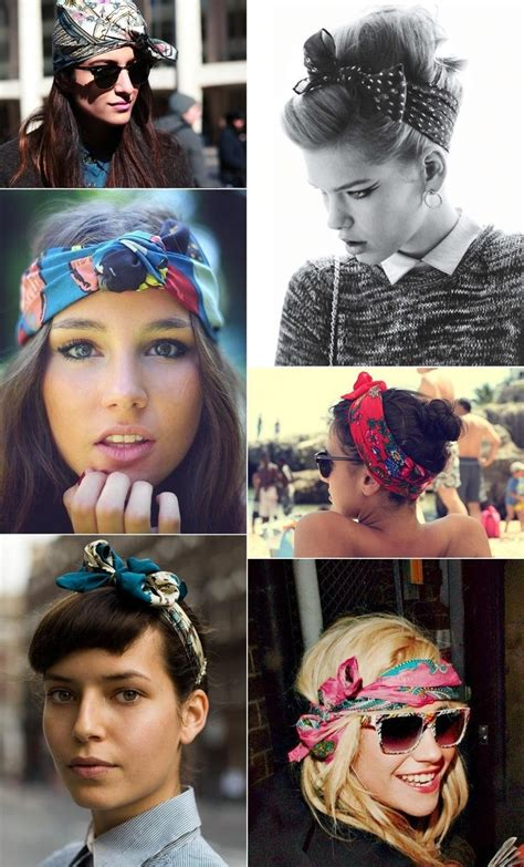 different ways to wear a bandana with short hair 5 super cute ways to wear bandanas