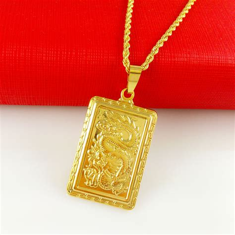 Kalung New Fashion Jewelry Gold Chain Necklace Pendant B 1 wholesale deal new arrival fashion jewelry dragons