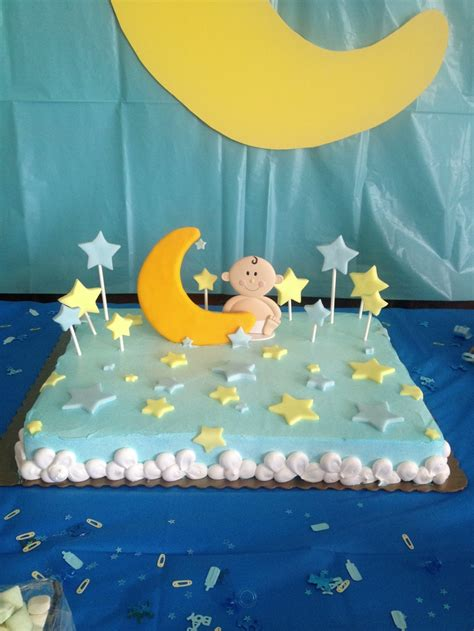 Moon And Baby Shower Ideas by Moon And Baby Shower Cake