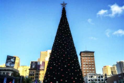 san francisco tree lighting union square tree lighting 2018 union square