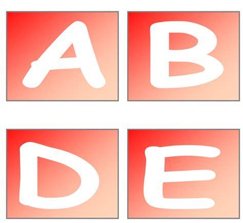 lettere dell alfabeto natalizie alfabeto natalizio
