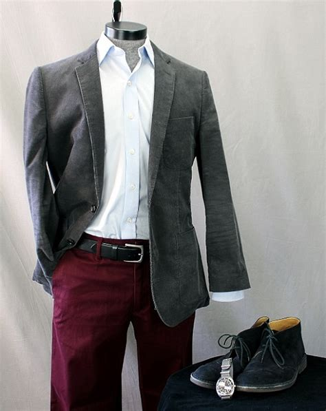Jas Blazer Exo Grey my feedly how to wear it burgundy chinos your personal shopping