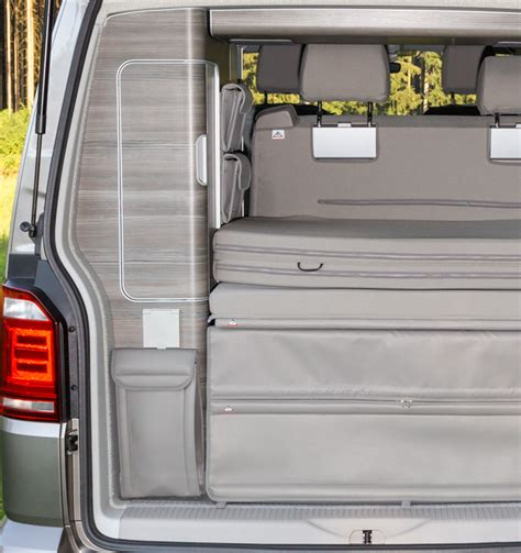 volkswagen california shower brandrup shower bag storage for the rear wardrobe vw t6