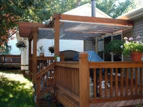 awning deck right awnings for deck to make it attractive decorifusta