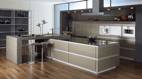 German Designer Kitchens k 252 chenfronten aus edelstahl mehr der metallic look