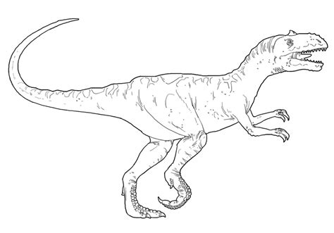 Allosaurus Coloring Pages allosaurus coloring pages