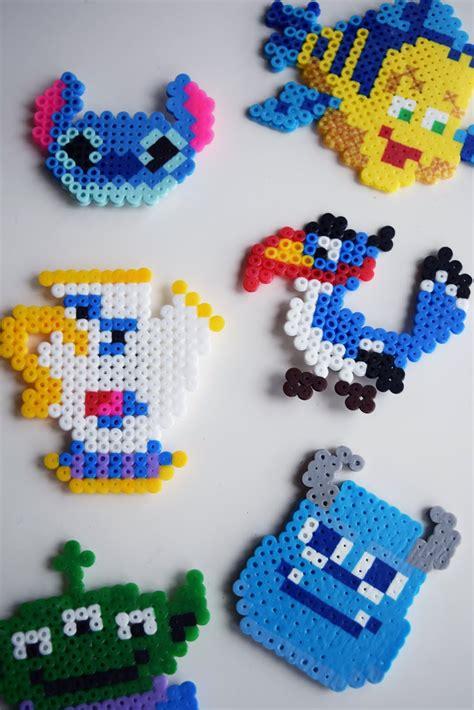 bead characters diy disney character magnets ariel alder