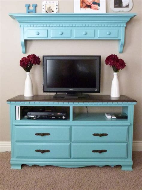 Diy Dresser Into Entertainment Center by Dresser Turned Into Entertainment Center Diy Projects