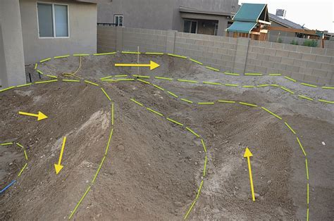 backyard bmx track design gonna build a backyard pump track mtbr com