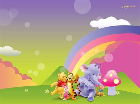 imagenes animadas wallpapers walt disney de dibujos animados de winnie the pooh fondo