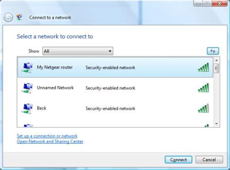configurare ip wireless configure wireless networking vista