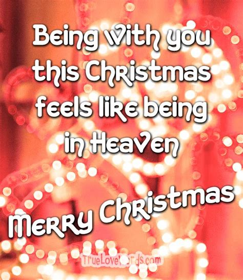 magical christmas love messages true love words