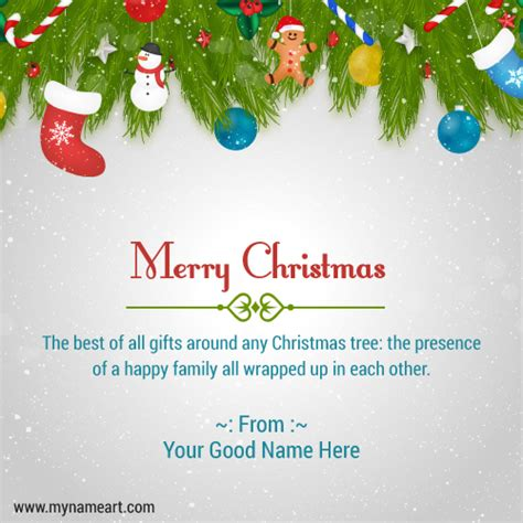 merry christmas wishes greeting card  family wishes greeting card