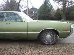 Who Bought Out Chrysler 1972 Low Mileage 24 720 Green Inside Out 400