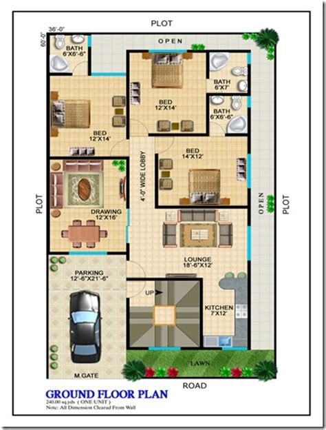 120 sq yard home design layout plans kings luxury homes karachi property blog