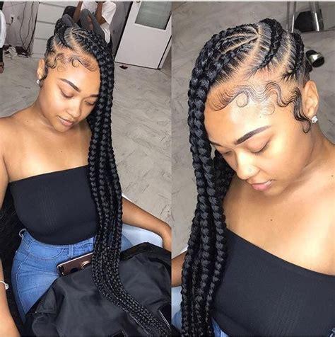 Jumbo More Black jumbo lemonade braids black braided hairstyles