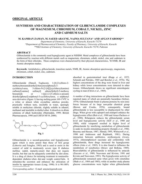 synthesis and characterization of nickel and nickel synthesis and characterization of pdf download available