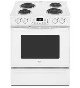 Used Electric Cooktop Whirlpool 174 30 Inch Self Cleaning Slide In Electric Range