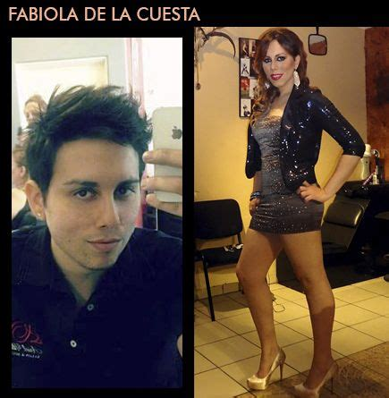 pin by transgendered net male to female transformations fabiola de la cuesta male to female before and after