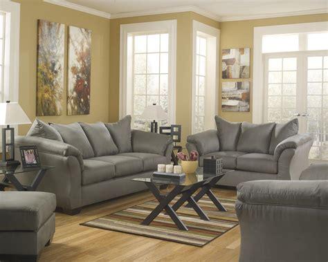 becker furniture world signature design by darcy cobblestone stationary