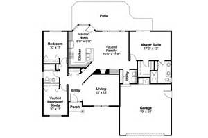 Ranch House Floor Plans by Ranch House Plans Bingsly 30 532 Associated Designs