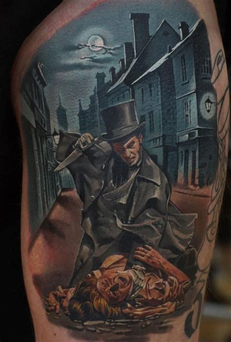 jack the ripper tattoo the ripper inkstylemag