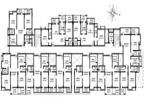 single story multi family house plans