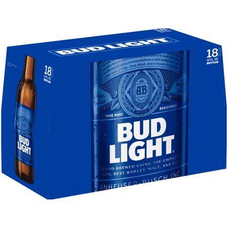 bud light 30 pack price walmart bud light 12 fl oz 18 pack walmart com