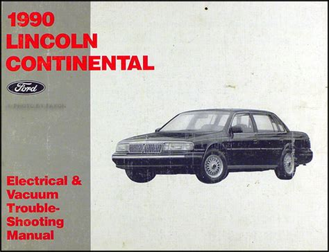 repair manual for a 1990 lincoln continental 1990 lincoln continental mark vii vvti engines