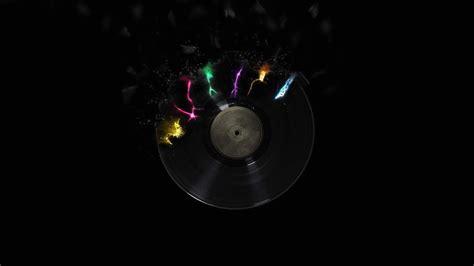 full hd video music wallpaper broken vinyl disc music 1920 x 1080 full hd