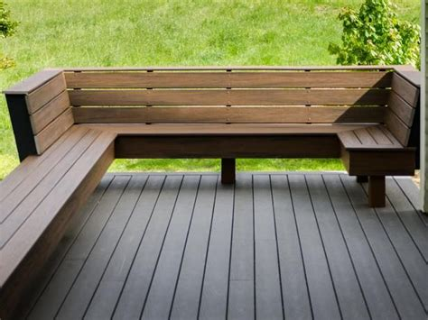 wood bench designs for decks the 25 best ideas about deck bench seating on pinterest