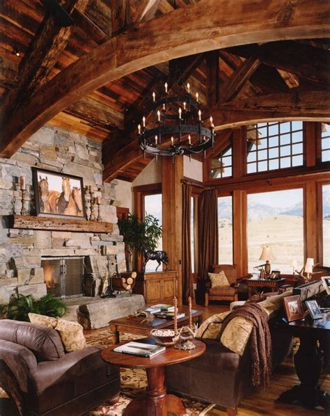 great room chandelier rustic house modern rustic homes