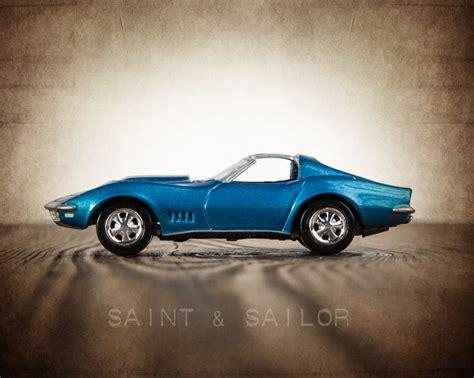 vintage corvette blue vintage muscle car blue 1968 corvette t top cars