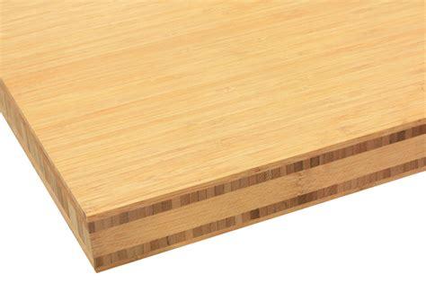 plan de travail cuisine bambou plan de travail bambou caramel pr 233 mium la boutique du