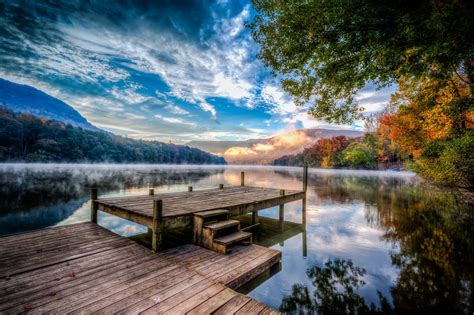piers usa wood pier at the lake usa 2048 x 1365 landscape