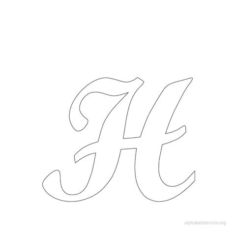 Letter Pattern 2018 free alphabet stencils to print and cut out