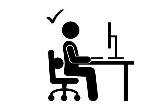 postura seduta corretta la posizione seduta corretta