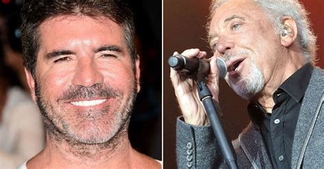 Offers 100000 To Simon Cowell by Simon Cowell Offers Tom Jones An X Factor After He Was