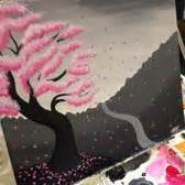 paint nite japanese cherry blossoms paint nite 94 photos 73 reviews paint sip