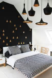 black and gold bedroom ideas black white and gold geometric bedroom decor pictures