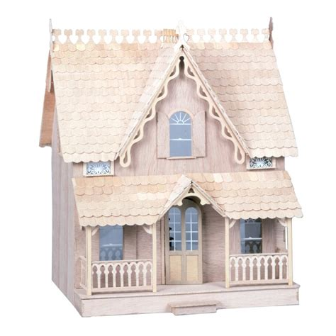 build your own doll house skarla s variety shop deals 2 story cute dollhouse kit diy new 23 5 quot tall