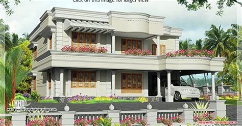 2850 house front 2850 sq classical home design kerala home design and floor plans