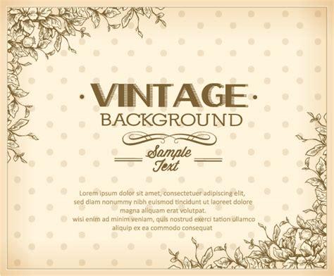 elegant vintage background set 06 over millions vectors