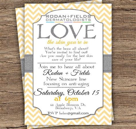business launch invitation templates free instant editable rodan and fields by