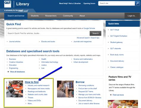 How To Find Information On How To Find Specialised Information Library
