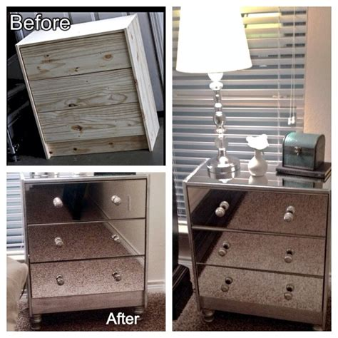 Mirrored Nightstand Ikea pin by gabrielle on the look for less