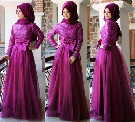 Kp 15 3 Pink Brokat Dress fashion formal muslim dress hijabiworld