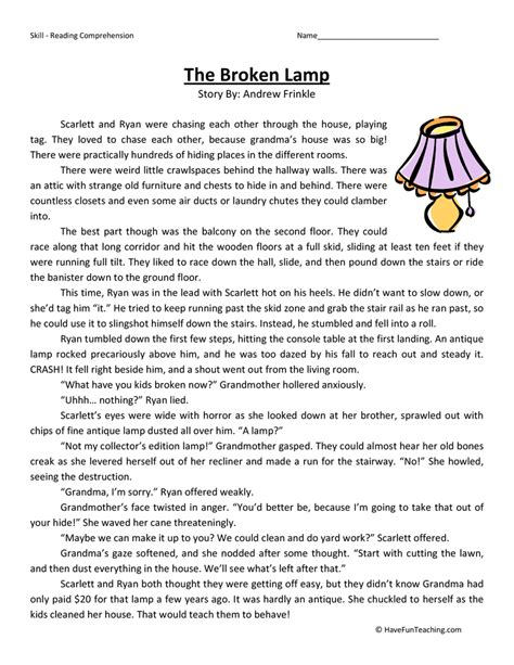 for 5th graders reading comprehension worksheets 5th grade the large and