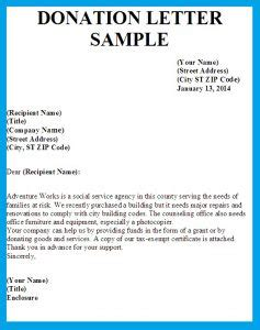 the one show charity letter template donation letter sle template business