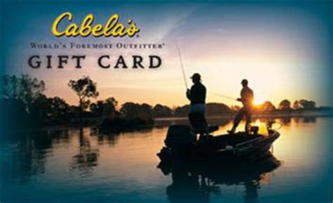 Cabela S Gift Card Value - win your dream year outdoors promotion tpwd